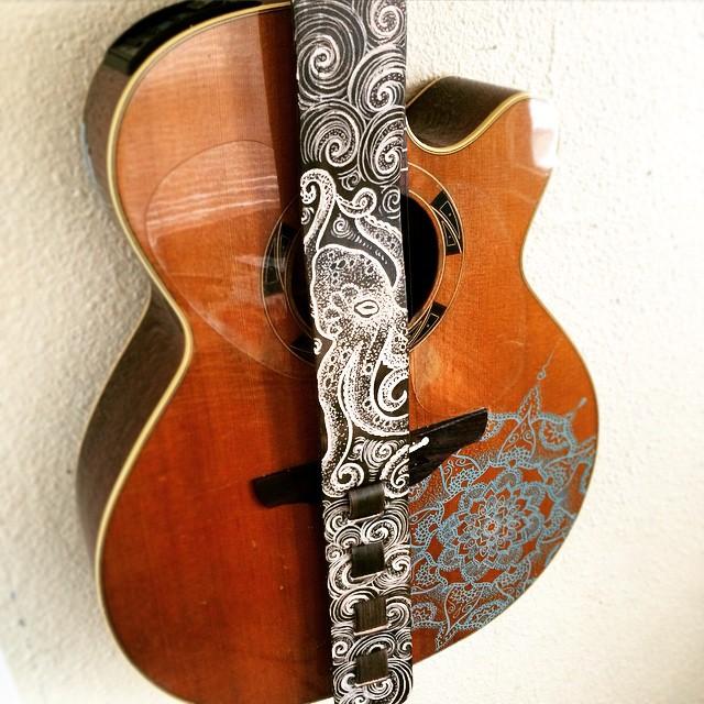 Octopus Guitar Strap