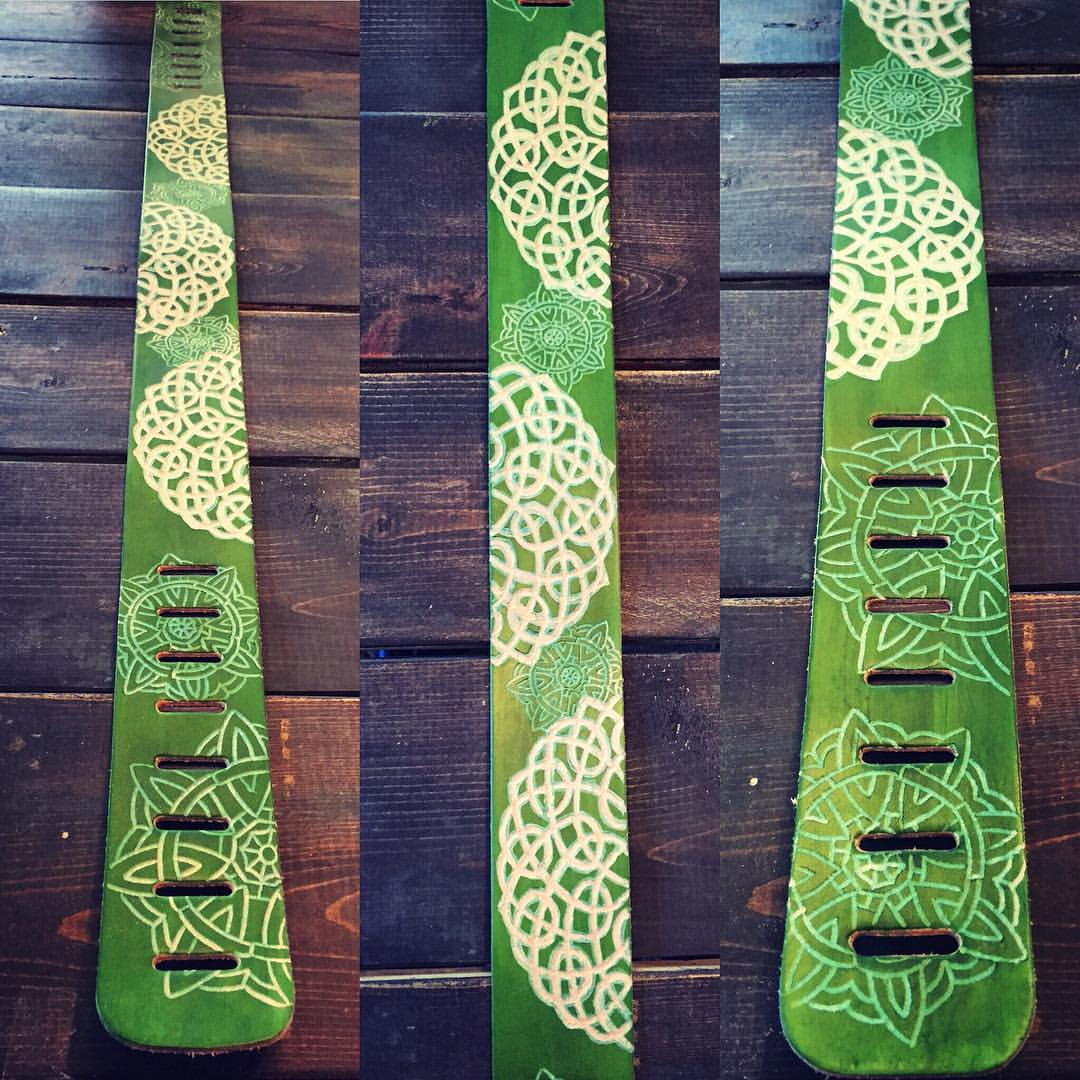 Commissioned Guitar Strap