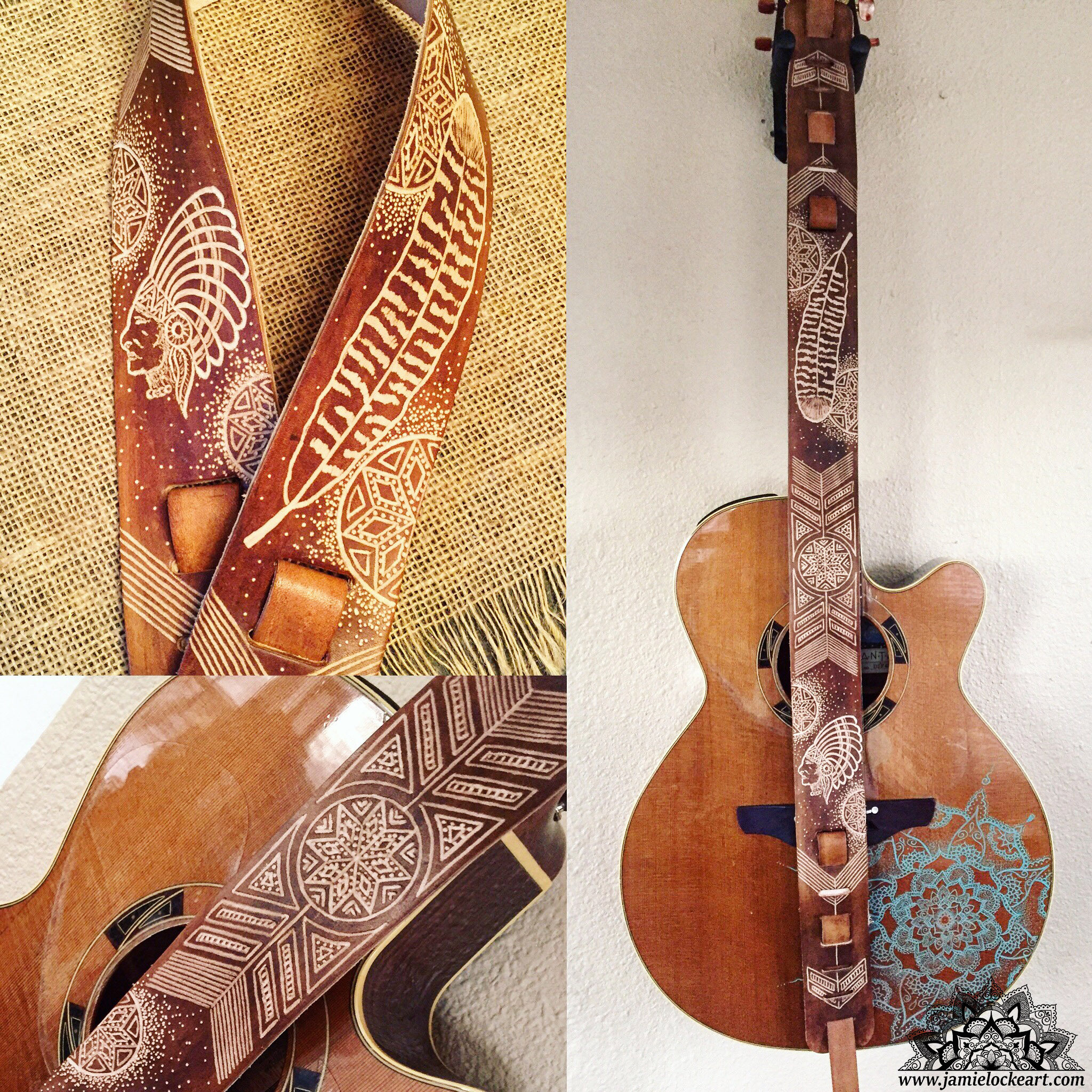 chief guitar strap