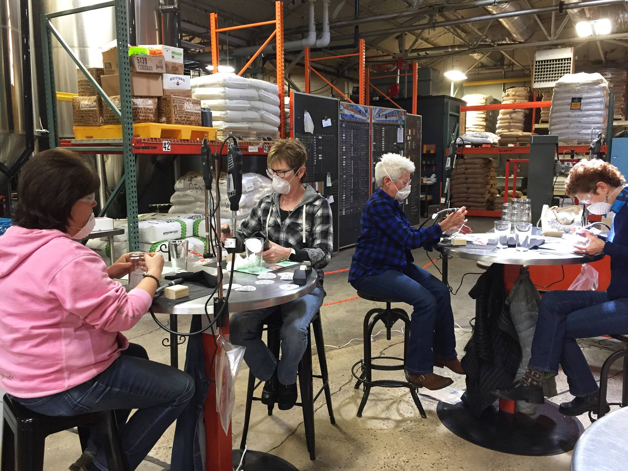 Glass Etching Class - June 30th, 1:00 pm or 3:00 pm at SunKing Brewery
