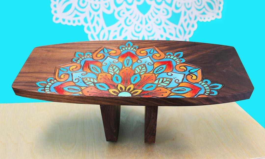 Custom Meditation Bench